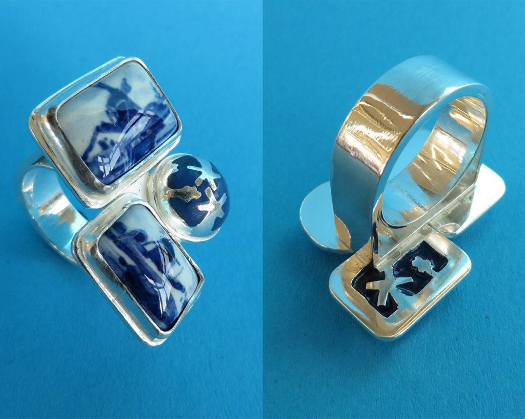 Ring Delftsblauw