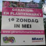 Geraniummarkt Wouw 2019