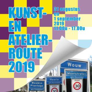 Kunst- en Atelierroute 2019, Wouw, Heerle, Wouwse plantage en Moerstraten